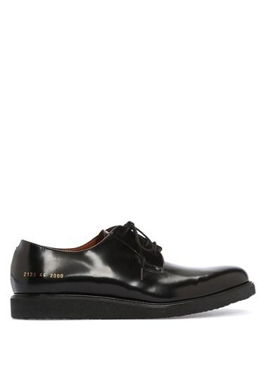 %100 Deri Bağcıklı Klasik Ayakkabı-Common Projects